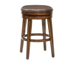 Hillsdale Furniture Beechland Backless Swivel Bar Stool — QVC.com