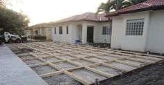Good morning, I want to share with you a HUGE project going on at the Perez household right now. It involves about 15 workers setting up t...