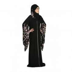 Fashionable Embroidered Abaya Collection for Ladies