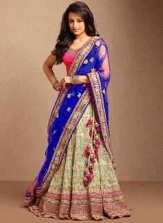 Pista Blue Embroidery Sequin Work Net Designer Wedding Lehenga Choli        #LEHENGA #Choli #Wedding #Bridal       http://www.angelnx.com/Lehenga Choli