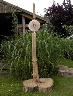 Skulpturen - Skulptur & Garten / Wiershop | Holzstelen | Pinterest ... Lebendige Skulpturen Im Garten Atlanta