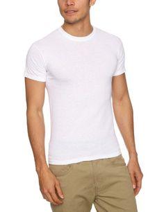 Fruit of the Loom Herren T-Shirt 5 er PackRegular Fit 11182V, Gr. 48 50 (M), Weiß (30 weiss)