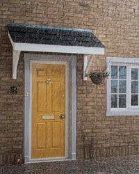 Porch Kit - Flat Roof Porch Canopy 1600mm