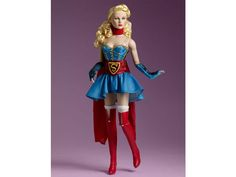 4eecdd722ef7 DC Stars Collection Bombshells Figure - Supergirl - DC Comics DC Stars  Tonner Dolls