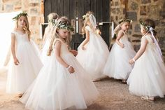 Most Adorable Flower Girl Dresses Flower Girls, My Flower, Designer Flower Girl Dresses, Cutest Thing Ever, Rustic Elegance, Wedding Gallery, Special Occasion Dresses, Weddingideas, Wedding Styles