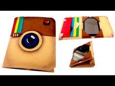 DIY crafts: instagram felt case tablet or ipad easy cheap crafts - handmade - Youtube - Isa ❤️ - YouTube