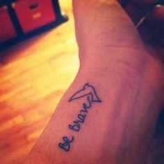 Divergent tattoo Be Brave Tattoos