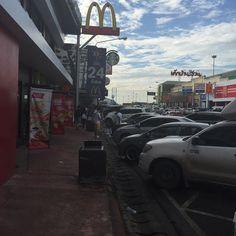 #27살의방콕여행  #ipone6  #태국 >>> #파타야 #휴게소 #햄버거 #20151010