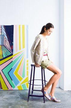 Aloha Jacket / Chaqueta Aloha #tmx #summer #collection #knitwear