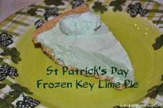 Frozen Key Lime Pie - Easy and Make ahead!