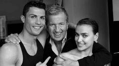 Cristiano Ronaldo e Irina Shayk posaron para el lente de Mario Testino