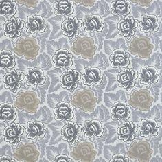 Havana Graphite Fabric | Designers Guild