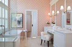 Awesome Feminine Bathroom Decorating Ideas