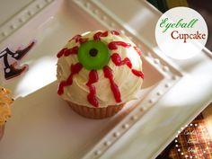 Eyeball Cupcake