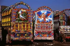 Trucks in Pakistan are a work of art