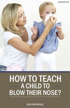 How To Teach A Child To Blow Their Nose? #Parenting