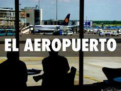 """""""El Viaje y el aeropuerto """" - A Haiku Deck by Hinsdale Spanish #setyourstoryfree"""