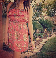 Flower Field Dress - www.ModernEgo.com Love!