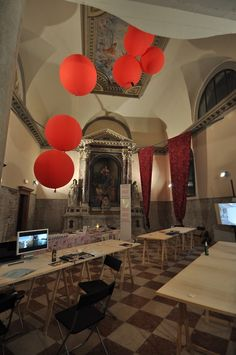 Preparations for the Critical Dialogues closing party, Venice 2012