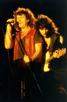 Deep Purple - Ian Gillan & Ritchie Blackmore