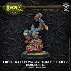 Grissel Bloodsong, Marshal of the Kriels   Privateer Press