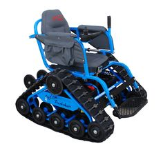 The Ultimate All Terrain Wheelchair