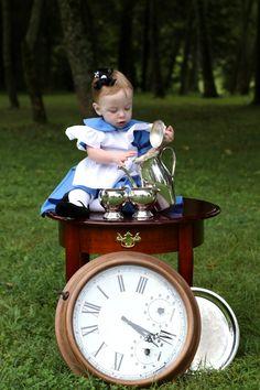 Little Alice In Wonderland Tea Party