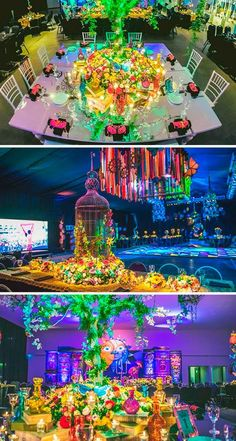 Tomorrowland tema para fiesta de XV años - Dale Detalles