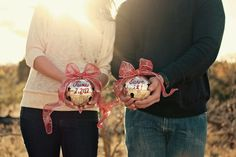 Marry Christmas! ~ Winter Save the Date Ideas » Inspiring Pretty