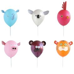 Air Heads Animal Balloon Set ($14) would be fun for a kids' party....decoration + party favor in one.