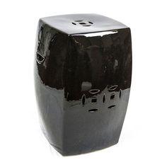 Black Garden Stool | Black Ceramic Stools | Black Porcelain Stool | Black  Ceramic Stool | Black Porcelain Stools | Black Pottery Stool | Black Pottu2026