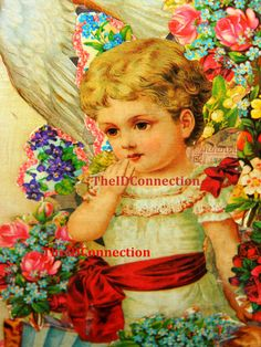 Victorian Trade Card Collage Collection Digital by TheIDconnection, $15.00