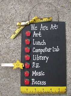 Teacher Signs Discover Teacher Gifts - We are At : Blackboard with Apples Teacher Signs, Best Teacher, School Teacher, Teacher Quotes, Baby Apple, 7 Places, Teacher Appreciation Week, School Gifts, School Treats