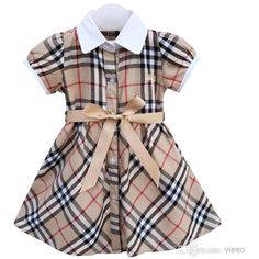 Cheap cotton girl dress, Buy Quality girls dress directly from China baby casual Suppliers: New Cute Sundress Plaid Dress Baby Casual Cotton Girls Dresses Children Clothing Girl Kids Clothes Vestidos Costumes Year Little Dresses, Little Girl Dresses, Girls Dresses, Khaki Dress, Plaid Dress, Plaid Skirts, Kids Outfits Girls, Girl Outfits, Kids Girls