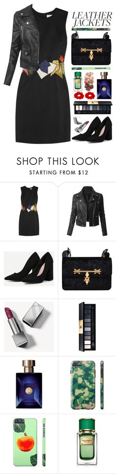"""""""01.11.17-2"""" by malenafashion27 ❤ liked on Polyvore featuring Christopher Kane, LE3NO, Burberry, John Lewis, Versace, Dolce&Gabbana and Sigma"""