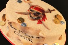 Pirate Cake by Cakebox Special Occasion Cakes, via Flickr
