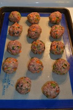 Beef and vegetable meatballs - Baby Led Weaning - Kid tested recipes