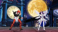 八神庵 VS 有紀/紺野木綿季(天使服) [MUGEN無限格鬥 拳皇 🆚 刀劍神域] King Of Fighters, Sword Art Online, Online Art, Street Fighter Characters, Angel, Angels