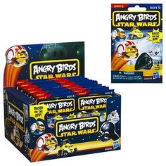 Star Wars Angry Birds Mystery Bags Wave 1 Case - Hasbro - Star Wars - Mini-Figures at Entertainment Earth