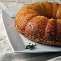 What If: Polenta, Olive Oil, Rosemary Cake   Turntable Kitchen