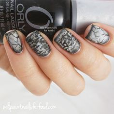 31 Day Challenge: Day Twenty-Nine, Inspired by the Supernatural: Dark Willow - Will Paint Nails for Food