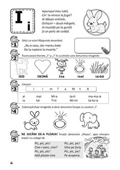 Preschool Worksheets, Activities For Kids, Romanian Language, Paper Trail, Kids Education, Grade 1, Montessori, Homeschool, Projects To Try