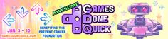 Awesome Games Done Quick 2016 Charity Speedrunning Event Concludes Raising Over $1.2 Million