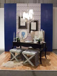 Tiffany Brooks' funky and sophisticated HGTV Star vignette. (http://www.hgtv.com/hgtv-star/hgtv-star-photo-highlights-from-episode-1/pictures/page-43.html?soc=Pinterest)