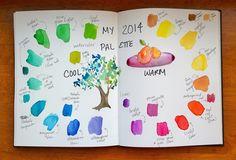 Gina Lee Kim: Warm & Cool: How I Organize, Colorize & Create