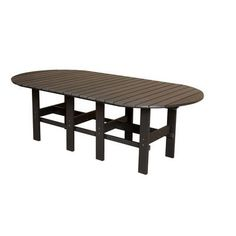 Little Cottage Company Classic Dining Table Finish: Weathered Wood