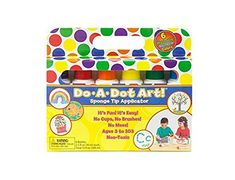 Do A Dot Art Markers 6Pack Rainbow Washable Paint Markers The Original Dot Marker *** Click image for more details.-It is an affiliate link to Amazon. #DrawingPaintingSupplies