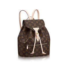 Montsouris Toile Monogram Femme Sacs à main | LOUIS VUITTON
