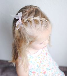 Best Picture For toddler hairstyles girl hairdos For Your Taste You are looking for something, and i Baby Girl Hairstyles, Plaits Hairstyles, Hairstyles Haircuts, Pretty Hairstyles, Easy Toddler Hairstyles, Hairstyle For Baby Girl, Hairstyles For Toddlers, Young Girls Hairstyles, Glamorous Hairstyles