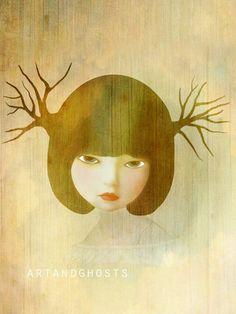 "Stella - Digital Painting Art Print 6x8"" on Etsy, $14.00"